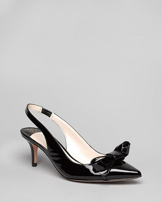 Ivanka Trump Pointed Toe Slingback Pumps - Lovely