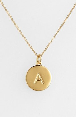 Women's Kate Spade New York 'One In A Million' Initial Pendant Necklace $58 thestylecure.com
