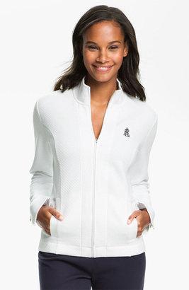 Lauren Ralph Lauren Sleepwear Zip Front Lounge Jacket