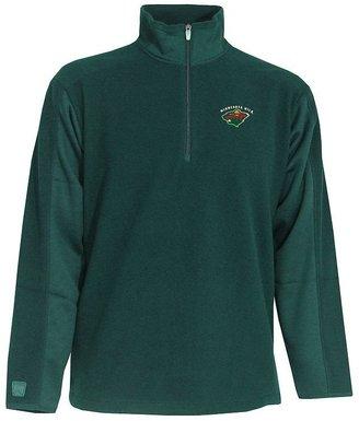 Antigua Minnesota wild frost 1/4-zip fleece pullover jacket
