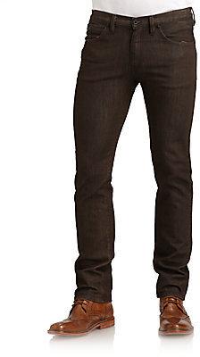 Rogan Puck Trim-Fit Straight-Leg Jeans
