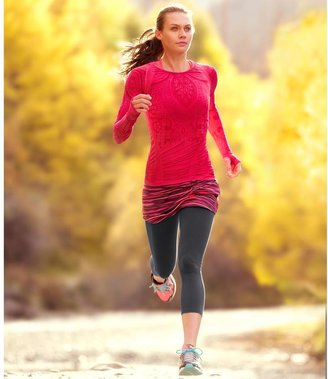 Athleta Long Sleeve Stride Top