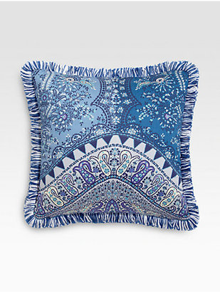 Etro Tacir-Print Satin Accent Pillow