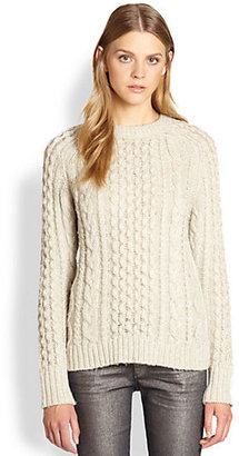 Marc by Marc Jacobs Sparkle Metallic Wool Sweater