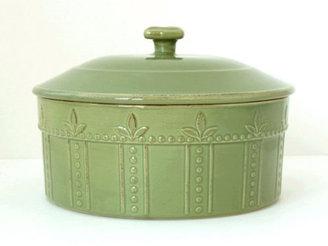 Signature Housewares 73-oz. Sorrento Covered Souffle Dish, Oregano