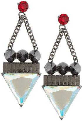 Asos Triangle Spike Earrings