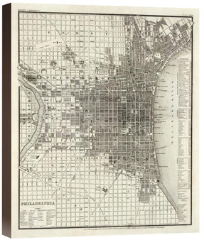 Philadelphia, 1860 by Society for the Diffusion of Useful Knowledge (Giclee)