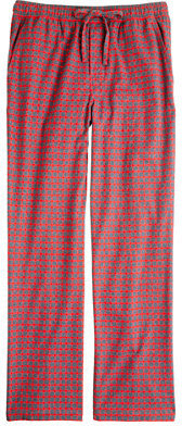 J.Crew Flannel sleep pant in bright barn check
