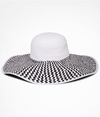 Express Two Tone Floppy Wide Brim Hat