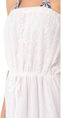 Bop Basics Cassis Cover Up Maxi Dress