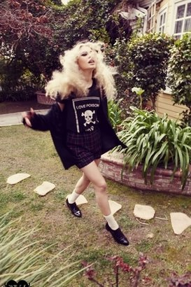 Wildfox Couture Love Poison Number 9 Tee in Black