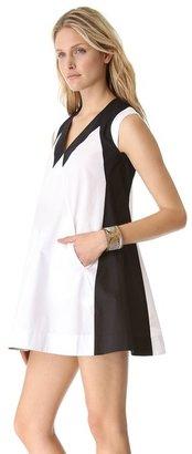 Yigal Azrouel Cut25 by Cotton Poplin Dress