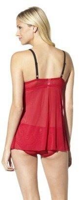 Babydoll Gilligan & O'Malley® Women's Holiday Lace Flyaway Valentine