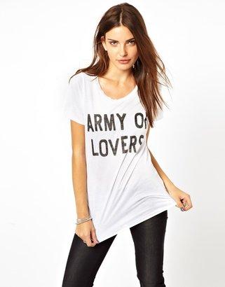 Zoe Karssen Army Of Lovers Loose T-Shirt
