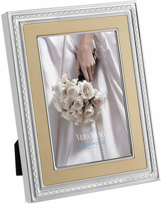 """Vera Wang Wedgwood With Love Gold 5""""x 7"""" Frame"""