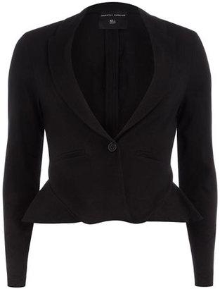 Dorothy Perkins Black jersey peplum jacket