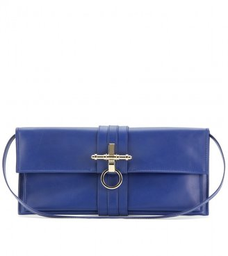 Givenchy OBSEDIA LEATHER CLUTCH