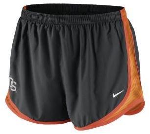 Oregon Nike College Seasonal Tempo State Women's Running Shorts