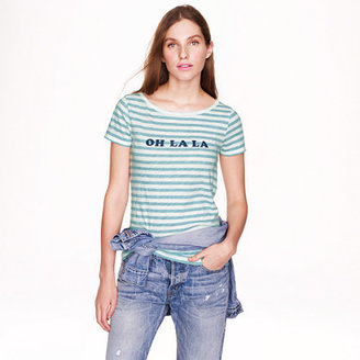 J.Crew Vintage cotton tee in oh la la