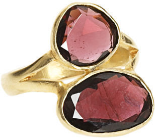 Pippa Small Double Stone Ring