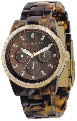 Michael Kors Women's Chronograph Bracelet Watch, 38MM
