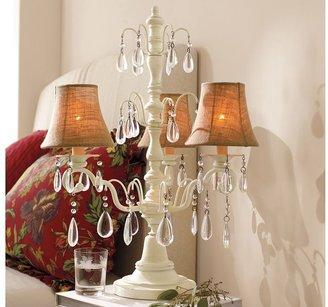 Pottery Barn Stella Chandelier Bedside Lamp