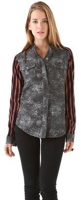 April May April, may Jessey Jean & Stripe Shirt