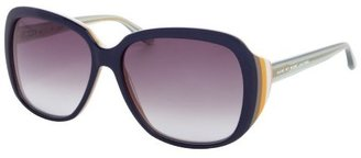 Marc by Marc Jacobs navy multi-color acrylic oversized square sunglasses