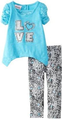 Little Lass Baby-Girls Infant 2 Piece Love Legging Set