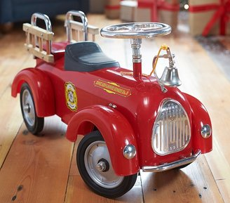Pottery Barn Kids Fire Truck Ride-On