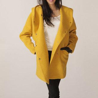 FM908 Hoodie Coat Yellow