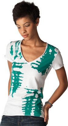 Converse Women's Painted V-Neck Tee
