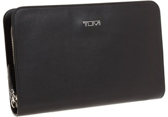 Tumi Bedford - Executive Double Zip Around Leather Clutch