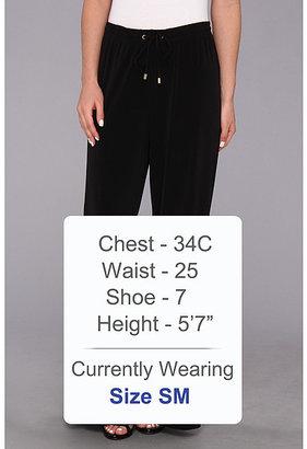 Calvin Klein Jersey Wide Leg Pant