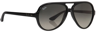 Ray-Ban RB4125 Cats 5000 59mm Sunglasses $165 thestylecure.com