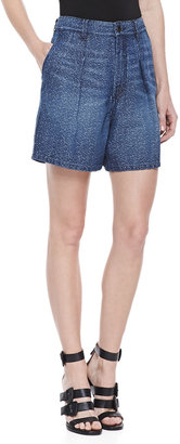 Theyskens' Theory Parker Wecksy Pleated Shorts