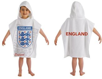 England St. George Poncho