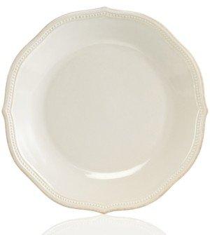 Lenox Dinnerware, French Perle Bead White Dinner Plate
