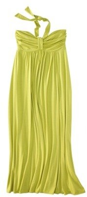 Mossimo Womens Plus-Size Halter Maxi Dress - Assorted Colors