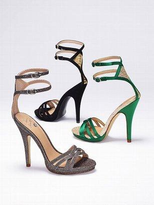 Victoria's Secret Colin Stuart Diamanté-back Strappy Sandal
