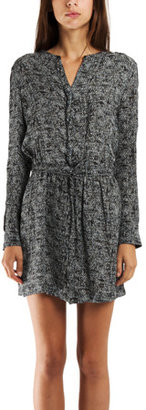 A.L.C. Hanna Dress in Grain Print