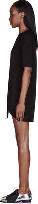 Marc by Marc Jacobs Black Ponte Knit Sophia Dress