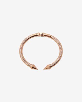 Vita Fede Mini Titan Crystal Surf Bracelet: Rose Gold