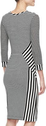 Diane von Furstenberg Haven Black and White Dress