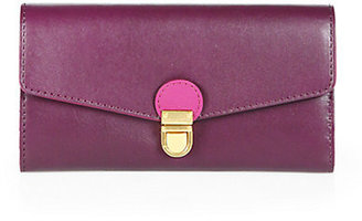 Marc by Marc Jacobs Top Chicret Bicolor Continental Wallet
