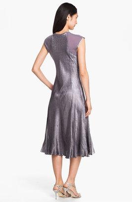 Komarov Textured Satin Dress & Jacket