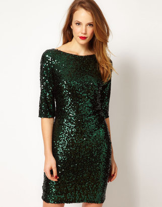 Coast Sterani Sequin Dress