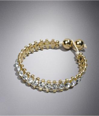 Express Rhinestone Cord Bracelet