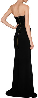 Roland Mouret Aries Floor-Length Skirt