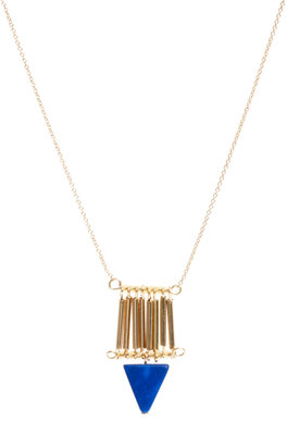 Asos Tube Triangle Necklace